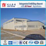 Le bâtiment en acier comprennent la structure métallique galvanisée
