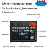 Pouce chaud sertissant Km-91h (type de la vente 2 de machine de boyau d'ordinateur)