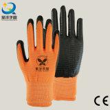 U3 раковина Natrile покрыла трудные защитные перчатки работы безопасности (N6026)