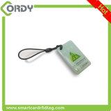 embleem druk RFID NFC EpoxyKeychain met Spaander NTAG213