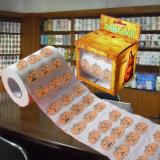 Halloween imprimiu o tecido de banheiro de Hallowmas do papel higiénico