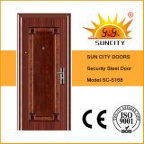 4 Panel-Standardgrößen-Eisen-Tür