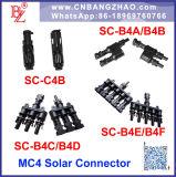 태양 전지판을%s IP68 PV 케이블 연결관