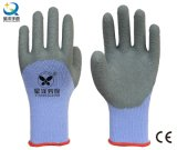 21 Latex 3/4 van het Garen van de maat de Met een laag bedekte Handschoenen van het Werk (L018)