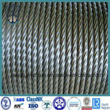 CCS/ABS/BV/Kr/Lr 증명서를 가진 철강선 밧줄