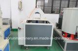 管のプロフィールの放出の生産機械ラインのための高容量PVC円錐対ねじプラスチック押出機