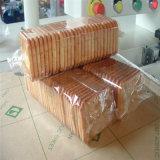 Biscoito na máquina de embalagem da borda