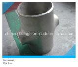 溶接されるASMEのステンレス鋼304 316十字のティーを減らす