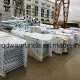 Gute Qualitätssteife galvanisierte Stahlverkehrs-Sperre
