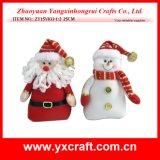 Decoración de Navidad (ZY15S033-1-2) Muñeco de Navidad