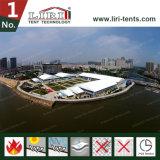 zaal van de Tent van de Vorm van de Boog van de Spanwijdte van 40m toont de Duidelijke voor Handel Handelsbeurs