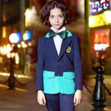 Giacca sportiva moderna dell'uniforme della scuola secondaria della giacca sportiva di inverno