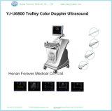 Carrinho de uso médico scanner de ultra-sonografia Doppler em cores (YJ-U6800)