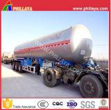 3 Axle 50cbm газа топливозаправщика несущей LPG бака трейлер Semi