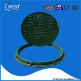 tampa de câmara de visita da fibra de vidro do esgoto BMC do círculo de 700mm