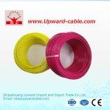 Fil électrique de PVC de conducteur de cuivre pour la construction ou le Constrction