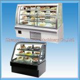 Affichage de gâteaux réfrigérés commerciaux pour vente