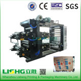 Maquinaria de impresión de Flexo del bolso de la película del HDPE del alto rendimiento Ytb-4600