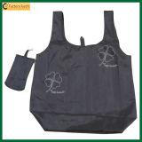 Kundenspezifischer Polyestertote-faltbare Einkaufstasche (TP-FB143)