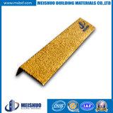 Escalier de glissade de fibre de verre de carborundum anti flairant pour le bord antidérapant d'opération (MSSNC-26)