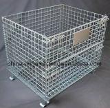 Gabbia d'acciaio pieghevole di memoria/gabbia del magazzino (1200*1000*890 Nb-7)