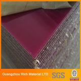 Die geworfene Farbe PMMA/verdrängte Plastikacrylvorstand