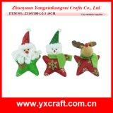 Usine d'OEM de Noël de la décoration de Noël (ZY14Y305-1-2-3)