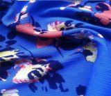 女性の夏の衣服のための印刷されたクレープファブリックビスコースレーヨン布