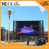 Tela de indicador ao ar livre video do diodo emissor de luz do estágio P3.91 Rental