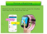 Form scherzt intelligente Verfolger-Uhr mit buntem Touch Screen D26