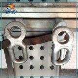 Geschmiedeter Teil-elektrischer Strom-passender Kontaktbuchse-Kugel-Gabelkopf