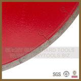 Piedra de alta eficiencia de la hoja de sierra de diamante para el corte de mármol, granito