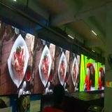 Tela de indicador video Full-Color interna do diodo emissor de luz da parede P5 para o estágio