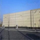 Construction en acier préfabriquée d'entrepôt de structure métallique avec la meilleure résistance de la corrosion