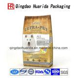 Les aliments pour chats comiques mettent en sac le sac de empaquetage d'aliment pour animaux familiers