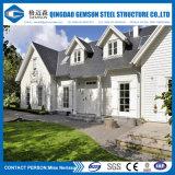 Villa de aço inoxidável pré-fabricada de design moderno