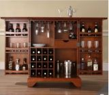 Crosley madera armario Bar ampliable Lafayette