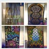 Eindeutige QualitätsJingyu Silk Drucken-ausgeglichenes Glas-Kirche-Glas