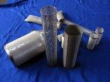 Filtre perforé de cartouche en métal d'acier inoxydable
