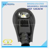 luz de rua do diodo emissor de luz do excitador IP67 de 80W Meanwell com controle da fotocélula