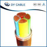 Cabo distribuidor de corrente isolado XLPE de cobre do núcleo da alta qualidade 35kv