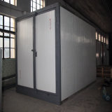 Powder elettrico Coating Oven Curing Oven con Trolley