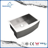 Стильный Single-Bowl Hot-Selling Hand made кухня стальной радиатор процессора (ACS3021)