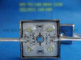표시를 위한 렌즈를 가진 SMD 사각 5054 LED 모듈