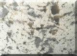 Pedra artificial preto em mármore de bancada de quartzo