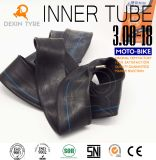 Câmera natural original 3.00-18 da bicicleta do motor da câmara de ar interna da câmara de ar da motocicleta da câmara de ar de borracha