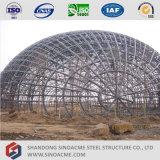 강철 구조물 관 Truss 서비스 건물