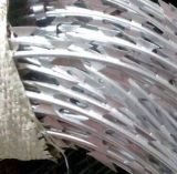 Гальванизированная изготовлением колючая проволока бритвы
