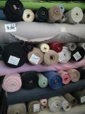Instock tingiu a tela 100% do poliéster do algodão da tela