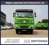 中国HOWO 336 HP 6X4 20m3 25tonのダンプのダンプカートラックの大型トラック